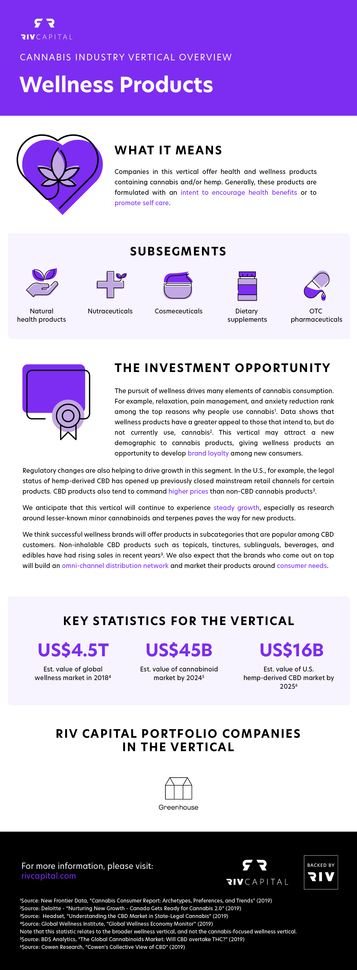 Wellness products: statistics, subsegments and the investment opportunity for the cannabis industry (infographic)